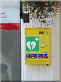 TM3863 : Defibrillator at the CoOp Pharmacy by Adrian Cable