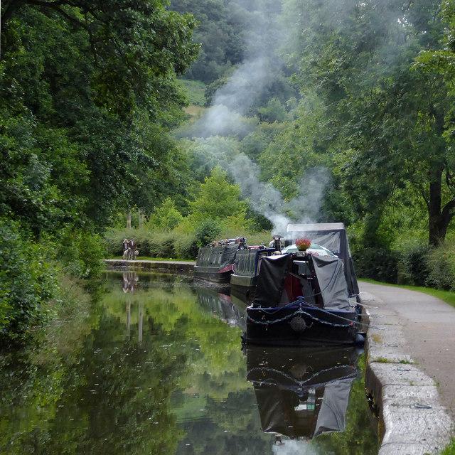 Caldon Canal near Cheddleton, Staffordshire