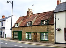 TF0920 : Stone House at Bourne, Lincolnshire by Rex Needle