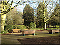 SP3277 : The German Peace Garden, War Memorial Park, Coventry by Robin Stott