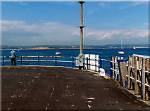SY6878 : End of the pier, Weymouth by Jaggery