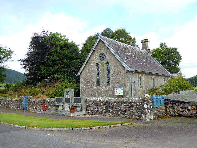 Westerkirk Library and the Thomas Telford Memorial