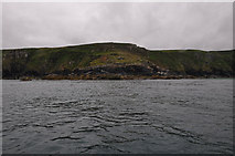SW4941 : Cornwall : Hor Point by Lewis Clarke