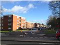 SP3378 : Michaelmas Road across Warwick Road, Coventry by Robin Stott