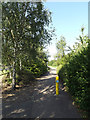 TL0652 : Path into Mowsbury Park by Adrian Cable