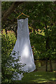TQ3092 : Wedding Dress in Broomfield Park, London N13 by Christine Matthews