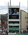 SK5837 : Trent Bridge Cricket Ground: tribute to Clive Rice by John Sutton
