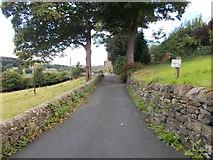 SE0424 : Driveway to Little Longbottom Farm - John Naylor Lane by Betty Longbottom