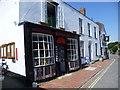 TQ5203 : The village store in Alfriston by Marathon