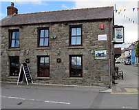 SN1916 : South side of the Station House pub in Whitland by Jaggery