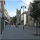 SO8554 : Worcester: High Street by John Sutton