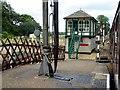 TG0939 : Signal Box at Holt Station by David Dixon