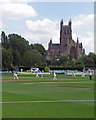 SO8454 : Worcester: county cricket at New Road by John Sutton