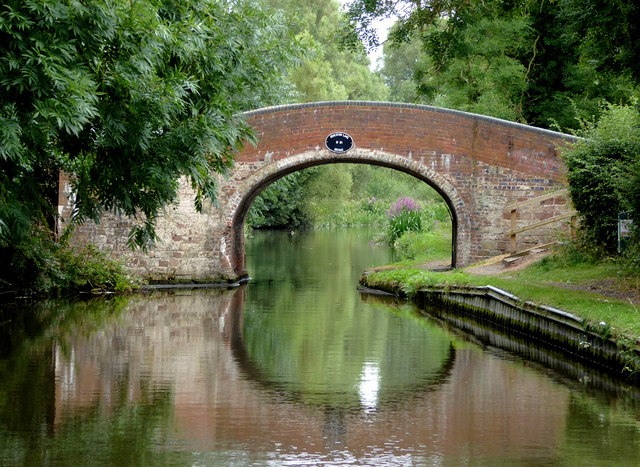 Otherton Lane Bridge south of Penkridge, Staffordshire