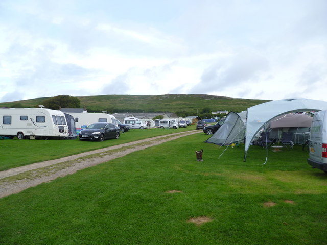 Part of Nicholaston Caravan and Camping Site, Gower