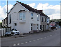 SN1916 : Station Road houses, Whitland by Jaggery
