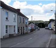 SN1916 : Station Road, Whitland by Jaggery