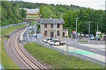NT3461 : Gorebridge station completed by Jim Barton