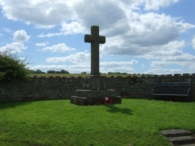 Hallington and Bingfiield War Memorial