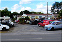 SN1916 : Willow Park homes, Whitland by Jaggery