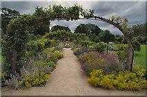 SE5158 : Beningbrough Walled Garden by Steve Wilson