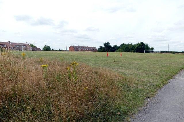 Mattersey Thorpe football pitch