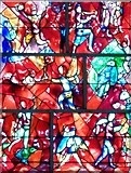 SU8504 : Chichester Cathedral - Chagall Window - detail by Rob Farrow