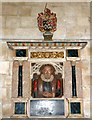 SU8504 : Chichester Cathedral - Memorial: John & William Cawley by Rob Farrow