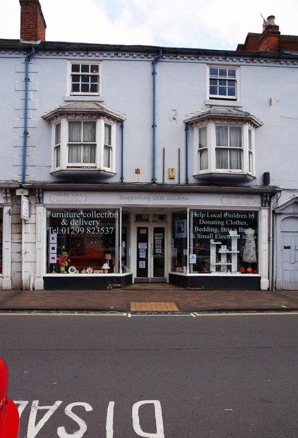 Mentor Link Charity Shop, 24-25 High Street, Stourport-on-Severn