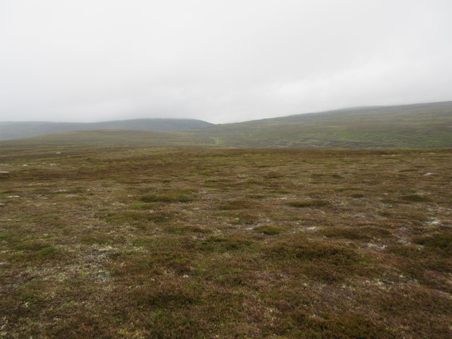 South ridge of An Sligearnach