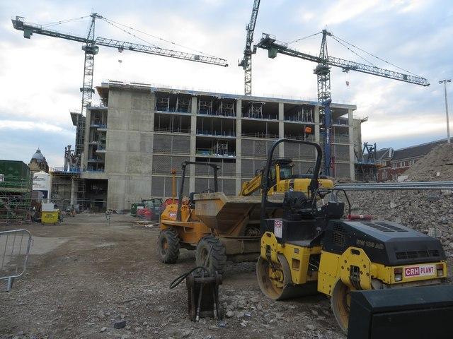 Victoria Gate building site, Leeds