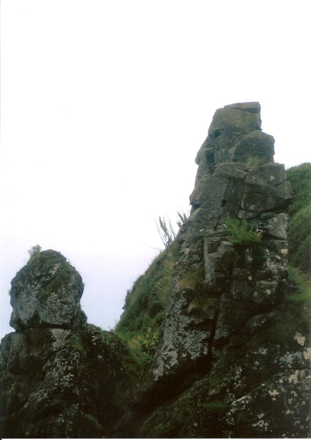 """""""The Spindle on the Rock"""" Usan"""