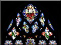 TF8208 : Swaffham Parish Church East Window, The Ascended Lord by David Dixon