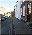 SO5924 : Listed buildings, Church Street, Ross-on-Wye by Jaggery
