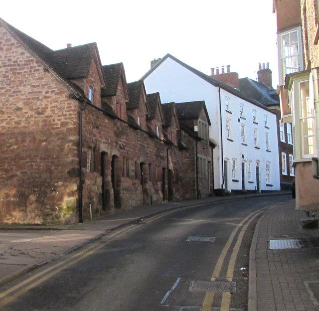 No parking in Church Street, Ross-on-Wye