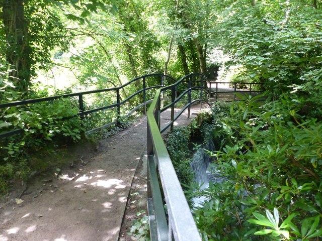 Wishing Bridge, Lymm Dam