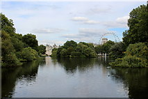TQ2979 : The Lake in St. James's Park by Chris Heaton