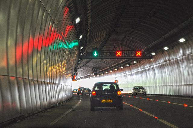 Saltash : The Saltash Tunnel, A38