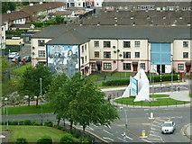 C4316 : Free Derry Corner by Carroll Pierce