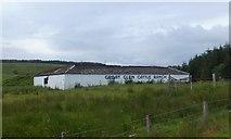 NN1880 : Cattle shelter at Druim a' Ghoill by Alpin Stewart