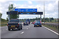 SO9673 : M42 - get in lane for the M5 by J.Hannan-Briggs