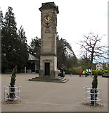 SP3265 : Jephson Gardens clock tower, Royal Leamington Spa by Jaggery
