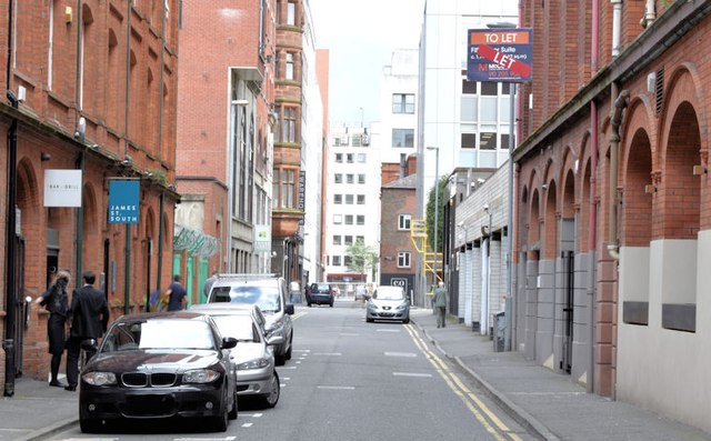 James Street South, Belfast (August 2015)