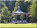 NT4914 : Bandstand in Wilton Lodge Park, Hawick by Jim Barton