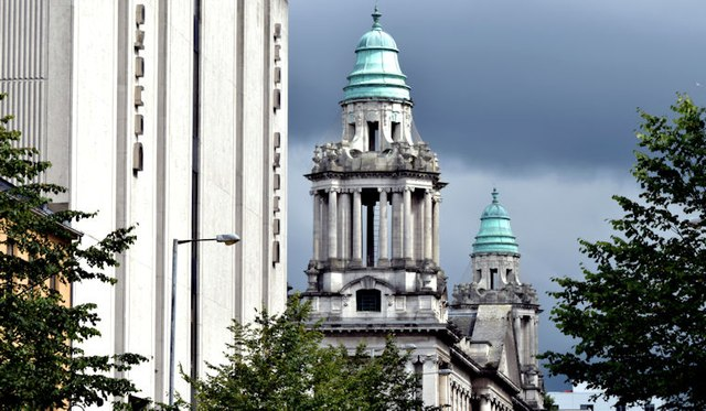 Cupolas, Belfast City Hall (August 2015)