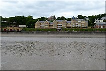 TA1280 : Filey Sands and architecture on the promenade by David Smith