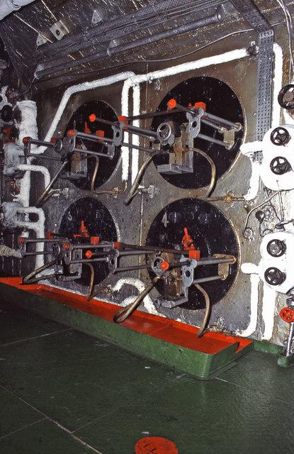 SS Canberra - boiler room