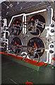 SU4011 : SS Canberra - boiler room by Chris Allen