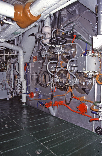 Hms Belfast Forward Boiler Room 169 Chris Allen Cc By Sa 2