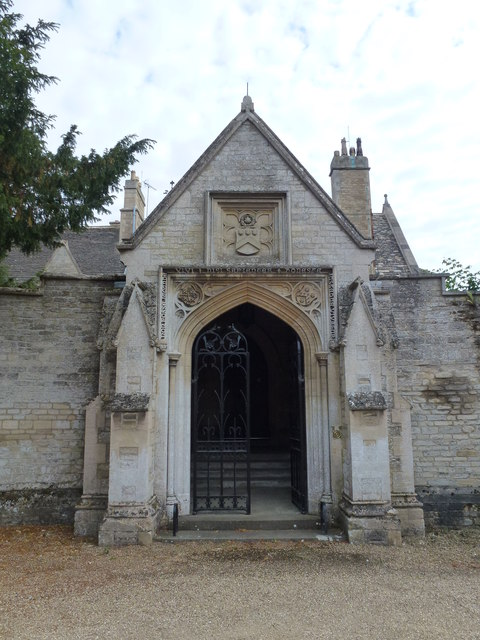 Entrance to Tansor Court